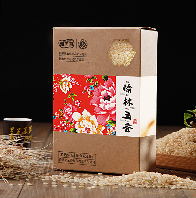 杂粮礼盒包装设计